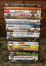 FREE SHIPPING! Lot of 25 Different Soul Black Urban Movie DVDs!