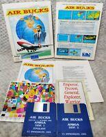 Air Bucks - Commodore Amiga - Boxed & Complete - Retro Vintage Video Game