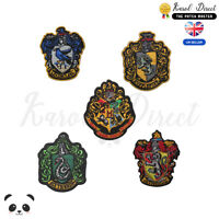 Harry Potter Gryffindor,Ravenclaw,Hufflepuff Embroidered Sew/Iron On Patch Badge