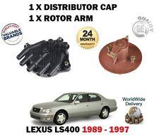 FOR LEXUS LS400 1UZ-FE 1989-1997 NEW 1 X DISTRIBUTOR CAP + 1 X ROTOR ARMS SET