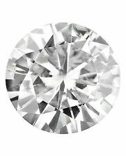 Round Forever Classic 5mm Moissanite 1/2 Ct Diamond With Certificate