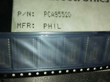 4x  PHILIPS PCA9552D , LED DRVR 16Segment 2.5V/3.3V/5V 24-Pin , SOIC-24