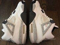1999 Air Jordan IV 4 White/Black/Cement Size 10.5 w/Original Box