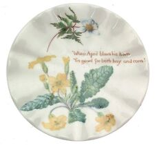 The Country Diary of an Edwardian Lady Spring plate - small size CP2341