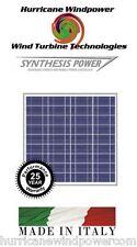 50w peimar/synthese 12v poly crystalline solar panel 50 watt off grid rv marine