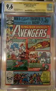 Avengers Annual 10 CGC 9.6 SS First Appearance Rogue Signed By Michael Golden!