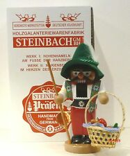 "Steinbach German Wooden Nutcracker Chubby ""Wanderer� S1336 New"