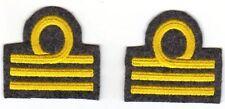 [Militaria] Coppia Gradi Capitano da polso mod. '40