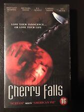 Cherry Falls Ex-Rental Vintage Big Box VHS Tape English with dutch subs Horror