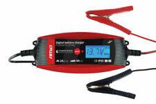 AMiO DVL DBC-4A 6V/12V 2A/4A Cargador de Batería para Coches - Rojo