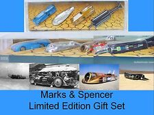Marks & Spencer Corgi LAND SPEED LEGENDS Bluebird Thrust Railton MIB`05 TOP RARE