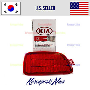 Reflector Bumper Rear Left DRIVER Side ⭐OEM⭐ 924512K500 Kia Soul 2012-2013