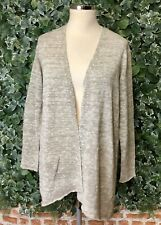 EILEEN FISHER (Size: L/G) Organic Linen/Cotton Cardigan - 60% Off RRP (EF2)