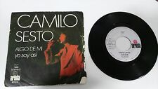"CAMILO SESTO SOMETHING OF MY+YO SOY ASI SINGLE 7"" VINYL SPANISH EDITION MEGA"