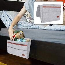 Felt Bedside Organizer Bed Pocket Hanging Storage Bag Phone/Book/Pad Holder Ace
