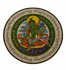 Green Tara Window Sticker