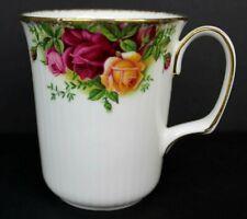 Vintage Royal Albert Old Country Roses Coffee Cup Mug 1962 England