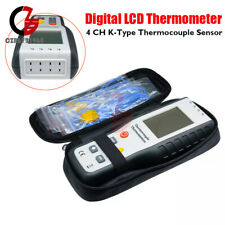 4 Channel K Type Digital Lcd Thermometer Thermocouple Sensor 2001372c2501f
