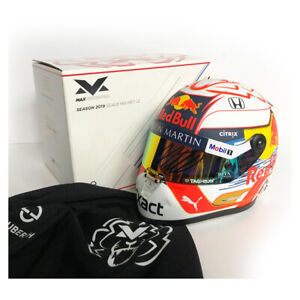 Signed Max Verstappen 2019 1/2 Scale Helmet - Red Bull Racing -  Formula 1