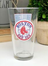 "Miller Lite BOSTON RED SOX All-Star Draft Series 5.75"" Beer Pilsner Glass Cup"