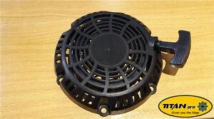 """Kohler 8 Pull Start   Titan Pro 22"""" Mower Recoil Starter   Self Propelled Lawn"""