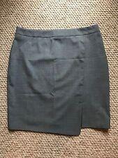 Tiger of Sweden Romana lightweight wool stretch skirt grey Eu 46/ UK18 Brand New