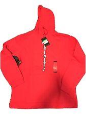 Nike Mens NBA Basketball Portland Trail Blazers Hoodie Sweatshirt Red Size XL