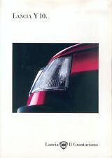 LANCIA Y 10 auto prospetto 1/95 auto prospetto brochure Europa Italia 1995 Europa