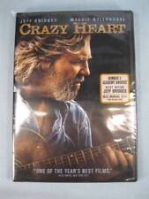 Crazy Heart DVD New Factory Sealed In Plastic Jeff Bridges 2 Academy Awards (O)