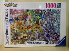 New & sealed Ravensburger Pokemon 1000 Piece Jigsaw Puzzle Challenge - imperfect