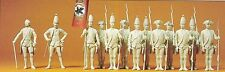 Preiser 63850 PRUSSE 1756 échelle 1:3 2 13 figurines non-peintes