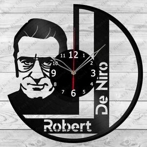 Vinyl Clock Robert De Niro  Vinyl Record Wall Clock Home Art Decor Handmade 4818