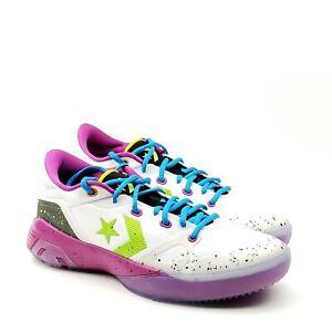 Converse G4 OX Low Graffiti Mens Basketball Shoes White Bright Pear 168918C 8.5