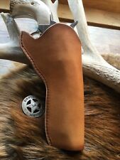 Leather Cowboy Holster For 5 1/2� Ruger Vaquero, Peacemaker Revolver (474)