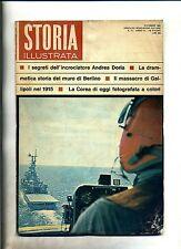 STORIA ILLUSTRATA#DICEMBRE 1965 N.97#ANDREA DORIA#MURO DI BERLINO#Mondadori