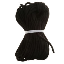 Climbing Safety Sling Rappelling Rope Auxiliary Cord 30m (Black)