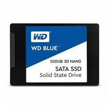 """Western Digital Blue 500GB interne SSD / Festplatte 2,5"""" Zoll 6.3cm SATAIII NAND"""