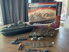 1984 GI Joe Killer Whale Hovercraft  *Near Complete