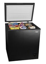 Arctic King Chest Freezer 5 cu ft Compact Defrost Refrigerator Upright Black
