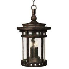 Maxim Santa Barbara Vx 3-Lt Outdoor Hanging Lantern Sienna - 40039Cdse