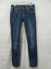 Women's Miss Me Blue Skinny Jeans Size 27