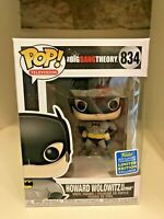 HOWARD WOLOWITZ AS BATMAN SDCC 2019 CONVENTION EXC FUNKO POP BIG BANG THEORY 834