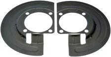 New Brake Dust Shield Front Pair Fits GM OE# 15959653 & 15959654 Dorman 924-374