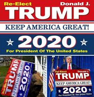 Donald Trump 2020 3x5 ft Flag Keep America Great President USA Patriot WSW