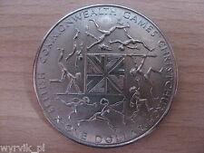 NEW ZEALAND 1974 Commonwealth Games Christchurch 1 dollar $