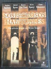 DVD - SOSPECHOSOS HABITUALES - KEVIN SPACEY - EDICION ESPECIAL - COMO NUEVO