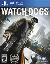 PLAYSTATION 4 PS4 GAME WATCH DOGS BRAND NEW SEALED
