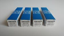 SET OF 4 OEM SUBARU NGK ILFR6B IRIDIUM SPARK PLUGS 22401AA630 FORESTER OUTBACK