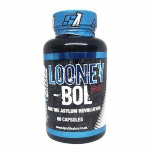 SA Nutrition Looney Bol muscle builder 60 caps