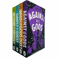 Who Let The Gods Out Series 4 Books Children Collection Paperback By Maz Evans